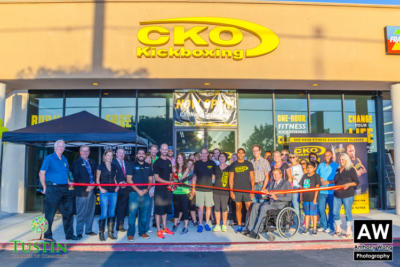 150917 CKO Kickboxing Ribbon Cutting 0040